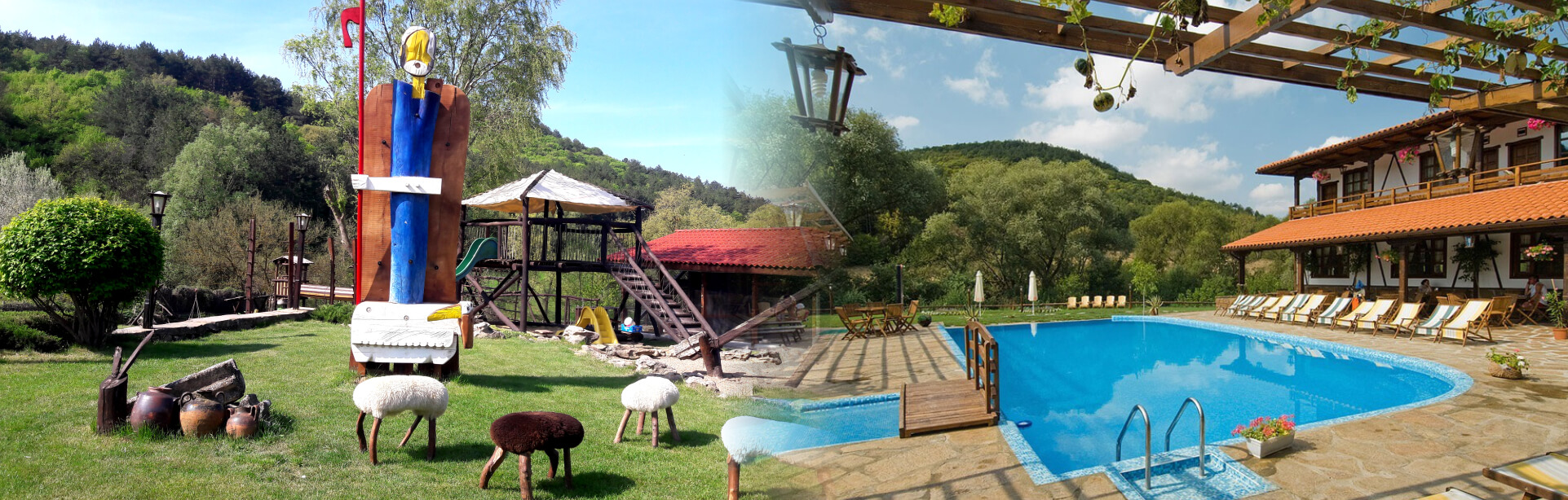 Tourist Complex Barite - Bulgaria, Varna, rural tourism, accommodation, folklore, folk-style restaurant, dams, fishing, ecotourism, eco, fossil forest